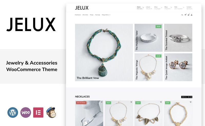 jelux woocommerce theme