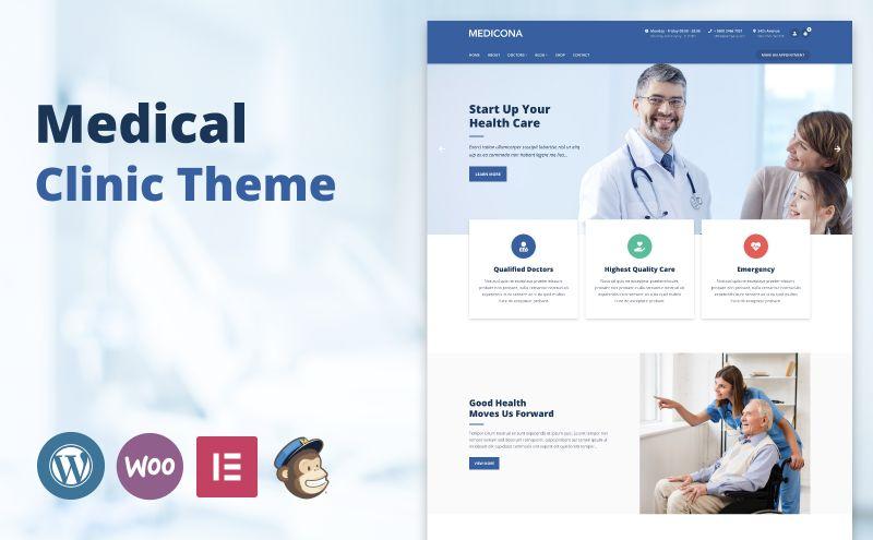 medicona wordpress theme